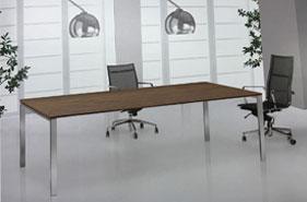 mesa de juntas rectangulares